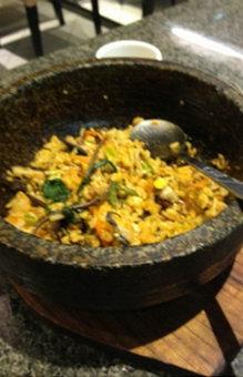 金刚山韩式烤肉吃到铁丝