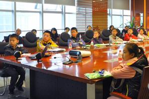重庆高交会建小记者团
