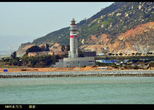 漳州开发区内建起目前厦门港最高的灯塔