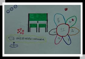 毛闽航:希望有新的课桌椅
