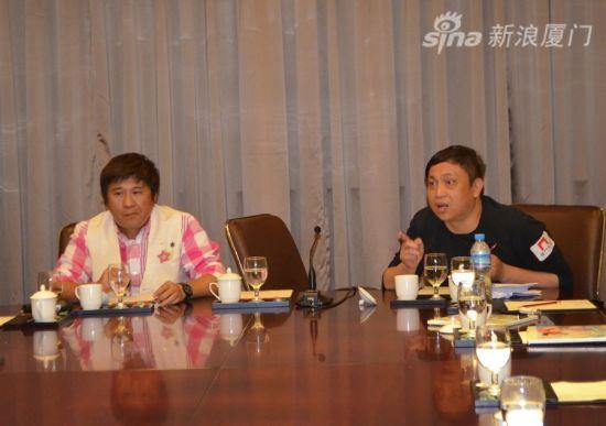 厦门卫视邹台长谈新节目《海西游记》构思。