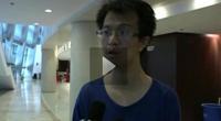 采访郭明义福建区志愿者团队代表
