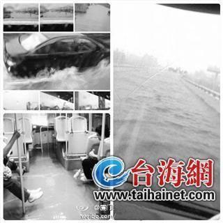 BRT高架桥淹水