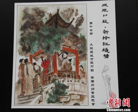 武汉高校工科生手绘 红楼梦 人物生动传神
