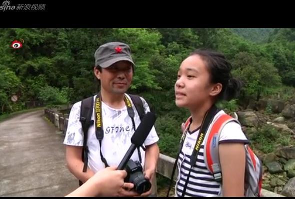 新浪旅游名博陈龙清@小漂回来及女儿