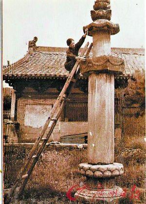这正是中国古代早期木结构建筑特有的型制