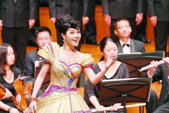 香港女高音歌唱家郑颖芬:三明是我成长的摇篮