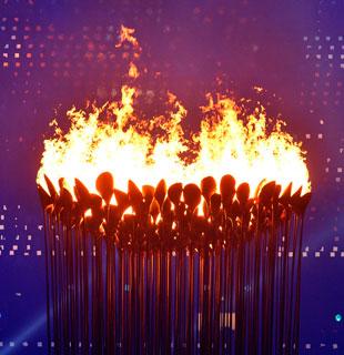 伦敦奥运会开幕式点火仪式
