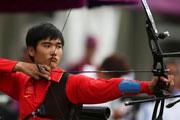 中国首战 射箭男子排名赛