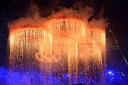 伦敦奥运会开幕式表演全景