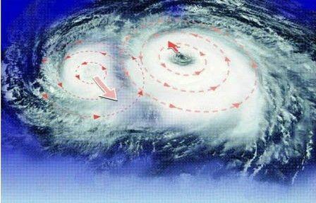 """太平洋上现""""双台风"""" 宁德沿海今起风力逐渐增强"""