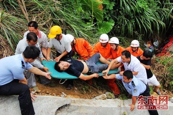 司机被成功救出