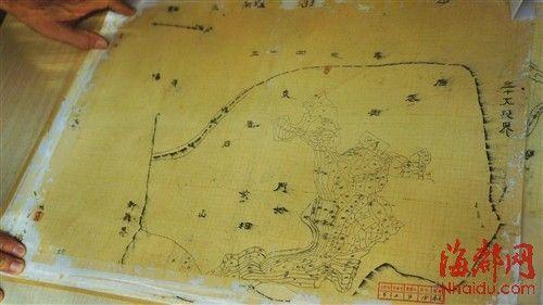 ▲民国时期莆田部分地区地图