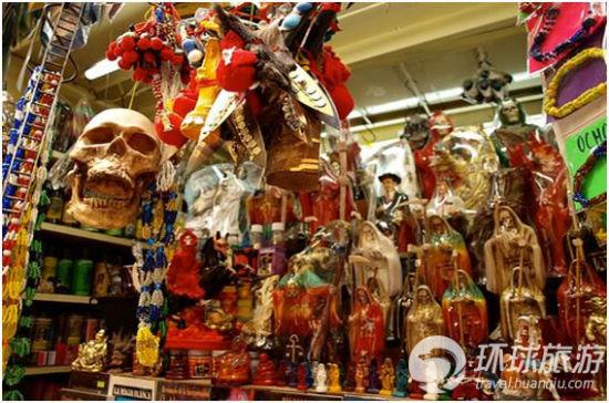 墨西哥的索诺拉巫术市场