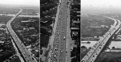 9月30日,广深高速上不少路段都非常拥堵