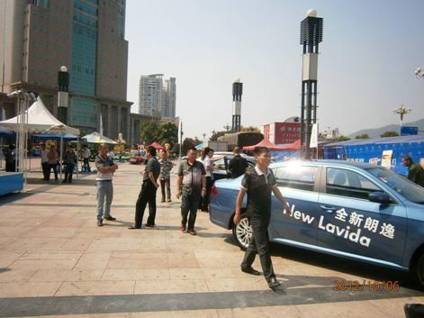 上海大众汽车大篷车展于10月6日至10月7日期间,在三明捷龙广场举行