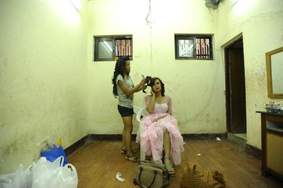 尼泊尔举办变性人选美大赛
