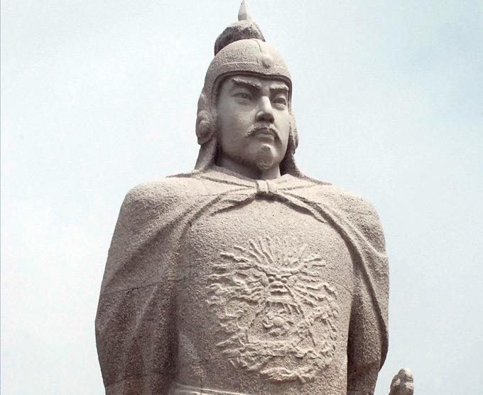 郑成功雕像