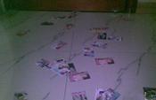 福州旅店客房地上撒满色情卡片