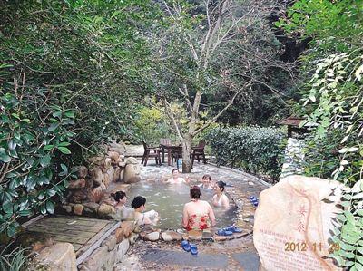 邵武瀑布林温泉备受游客欢迎