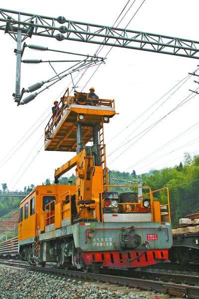 向莆铁路建宁段电气化工程建设进入扫尾阶段