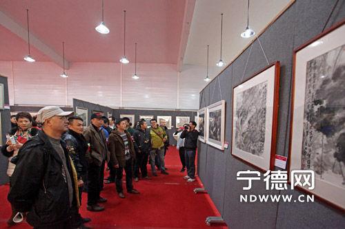 81幅优秀美术作品在宁德工艺美术产业园展出