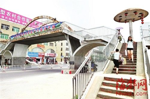 涵江车站天桥