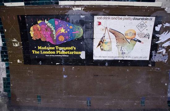 伦敦交通运输博物馆专门组织了奥尔德维奇之游,游客难得有机会一睹废弃车站的风貌