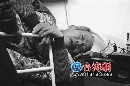 瘫痪在床三年,不堪病痛的折磨,他生不如死
