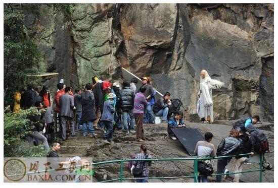 电视剧《妈祖》九鲤湖拍摄取景