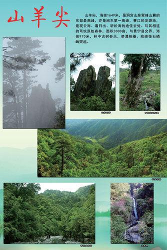 寿宁县最高峰、闽东群峰之冠-山羊尖