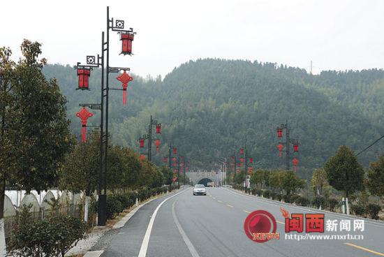 """景区被列入""""湘赣闽红色旅游区""""和福建省十大旅游品牌"""