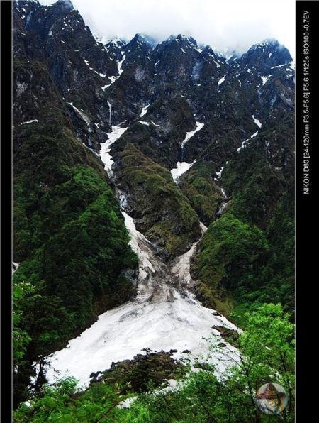 徒步雅江峡谷40天