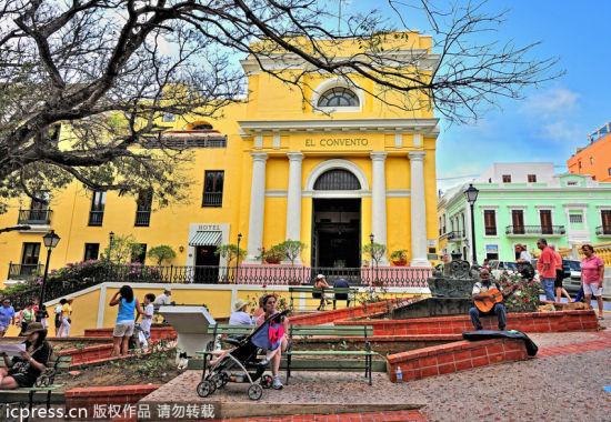 波多黎各圣胡安康凡多旅馆