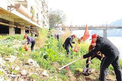 """""""美丽南平・美丽心灵""""志愿服务行动在延平湖畔举行"""
