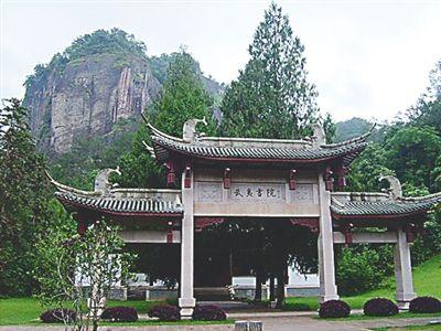中国古代书院建筑画分享展示