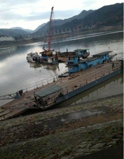昼如黑夜狂风大作 南平一渡船翻沉致11人死亡