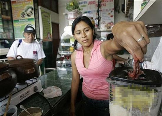 能壮阳的秘鲁重口味饮料:青蛙汁