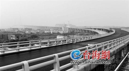 厦漳跨海大桥预计5月通车