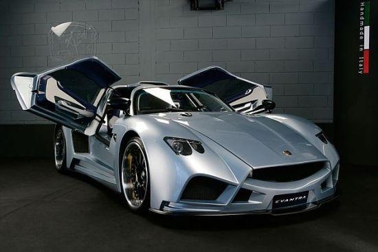 Mazzanti超级跑车亮相摩纳哥奢侈品展