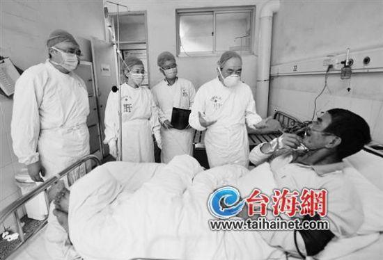 ▲龙岩H7N9患者罗某目前病情已有所好转
