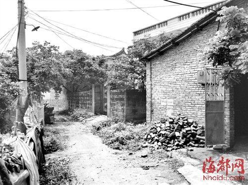 有村民说看见林某翻墙进入罗老太的房子