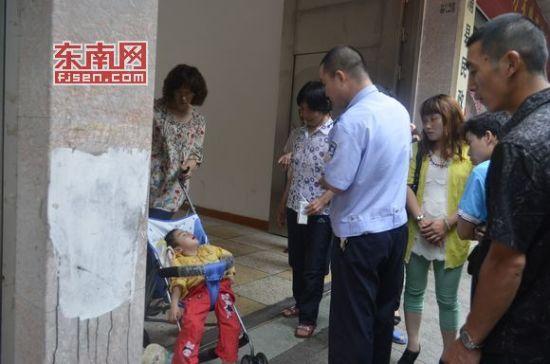 霞浦县民政局门口发现弃婴 疑因患脑瘫遭弃