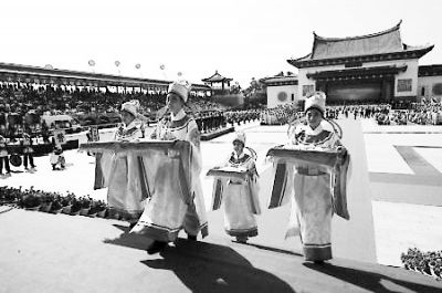 2011年妈祖文化旅游节开幕(本报资料图)