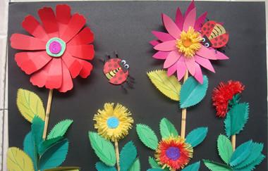 母亲节的 立体贺卡制作 手工diy过程图解-手工家-手工-立体花朵贺卡 立