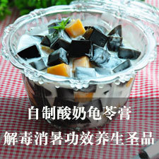 武酸奶龟苓膏