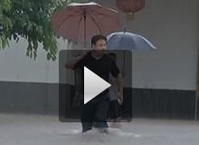 潼南最大雨量达348毫米