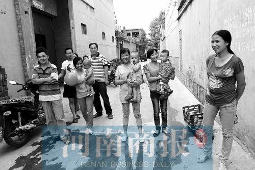 临淇镇的越南媳妇和家人们