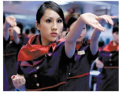 香港空姐学咏春拳