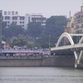 老照新拍:《如今的万寿桥头》拍摄者:林圜